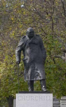 Памятник Черчилю