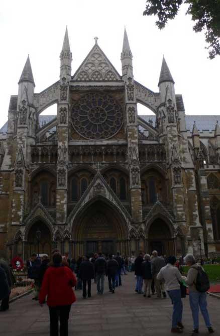 Северный вход в Вестминстерское аббатство