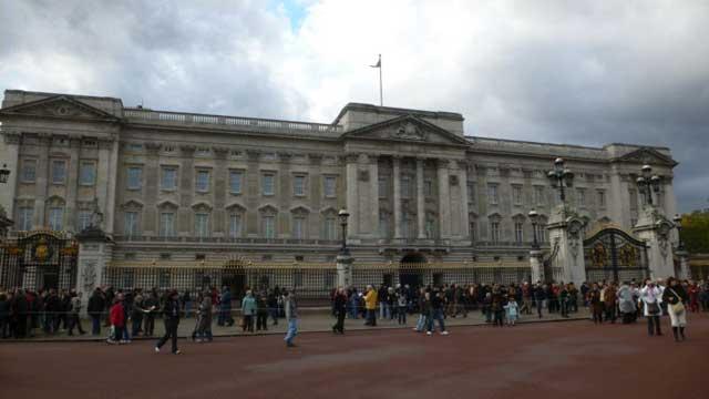 Смена караула у Букингемского Дворца