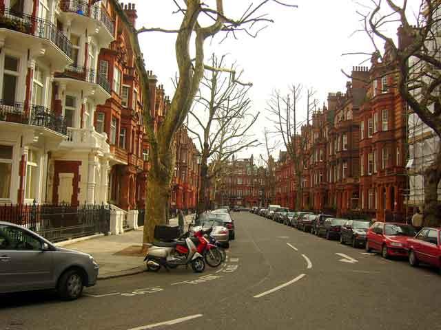 Улица в Челси