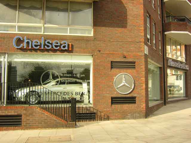 Mercedes Benz Chelsea