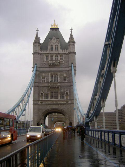 Tower Bridge, вид с моста